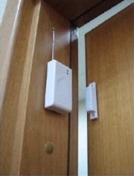 Датчик на дверь для GSM сигнализации