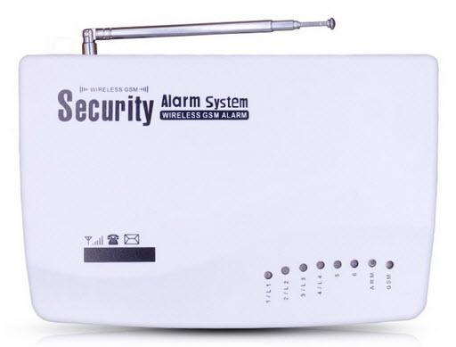 Проводная GSM сигнализация для гаража